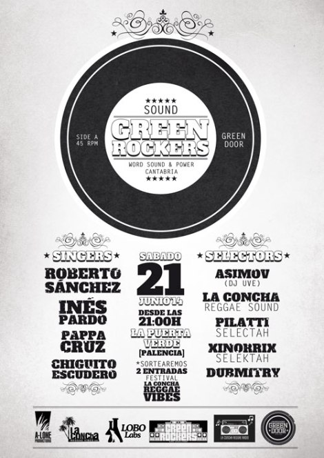 GREEN ROCKERS SOUND en la Puerta Verde