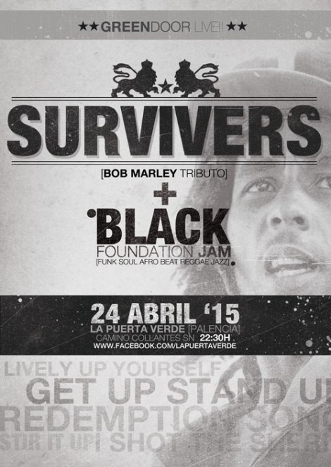 SURVIVERS tributo  BOB MARLEY and THE WAILERS